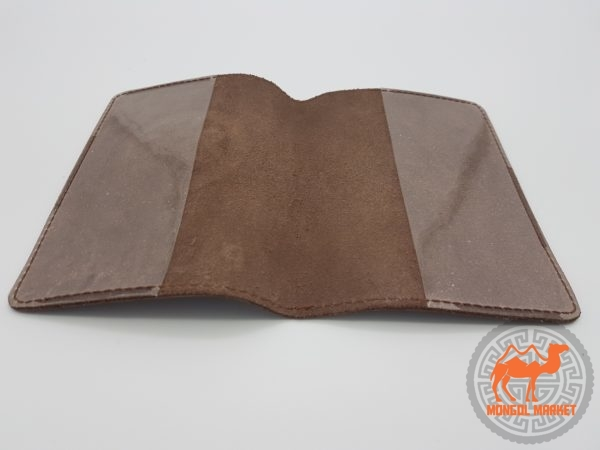 Облозка на паспорт из натуральной кожи
