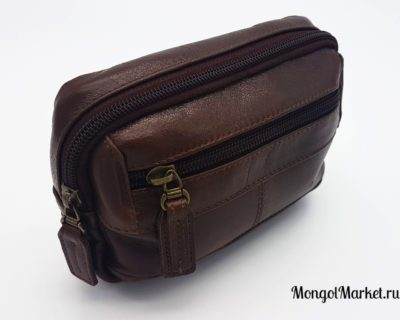 кожаная сумка на пояс фото
