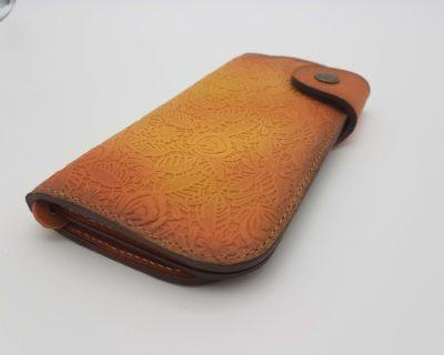 Женский кожаный кошелек фото