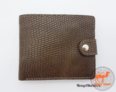 кожаный кошелек коричневый
