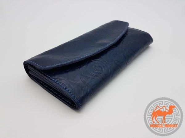 Крутой кожаный кошелек