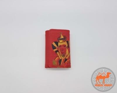 кожаный кошелек из Монголии