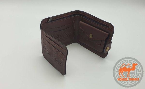 кожаный портмоне фото
