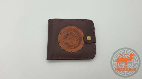 картинка кожаный мужской портмоне