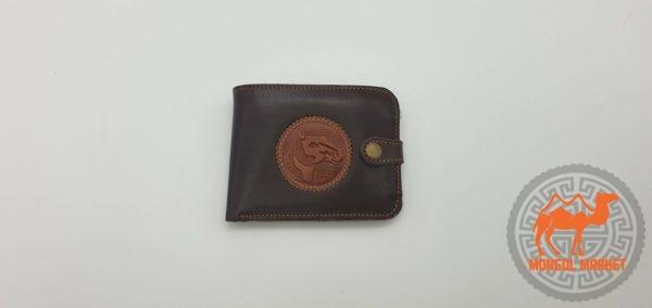 кожаный портмоне