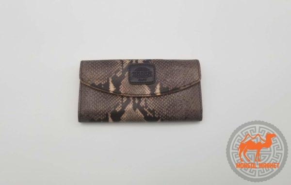 кожаный женский кошелк из натуральной кожи картинка