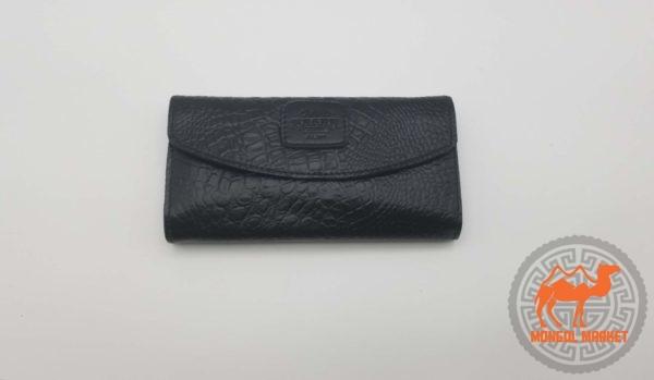 Кожаный женский кошелек фото