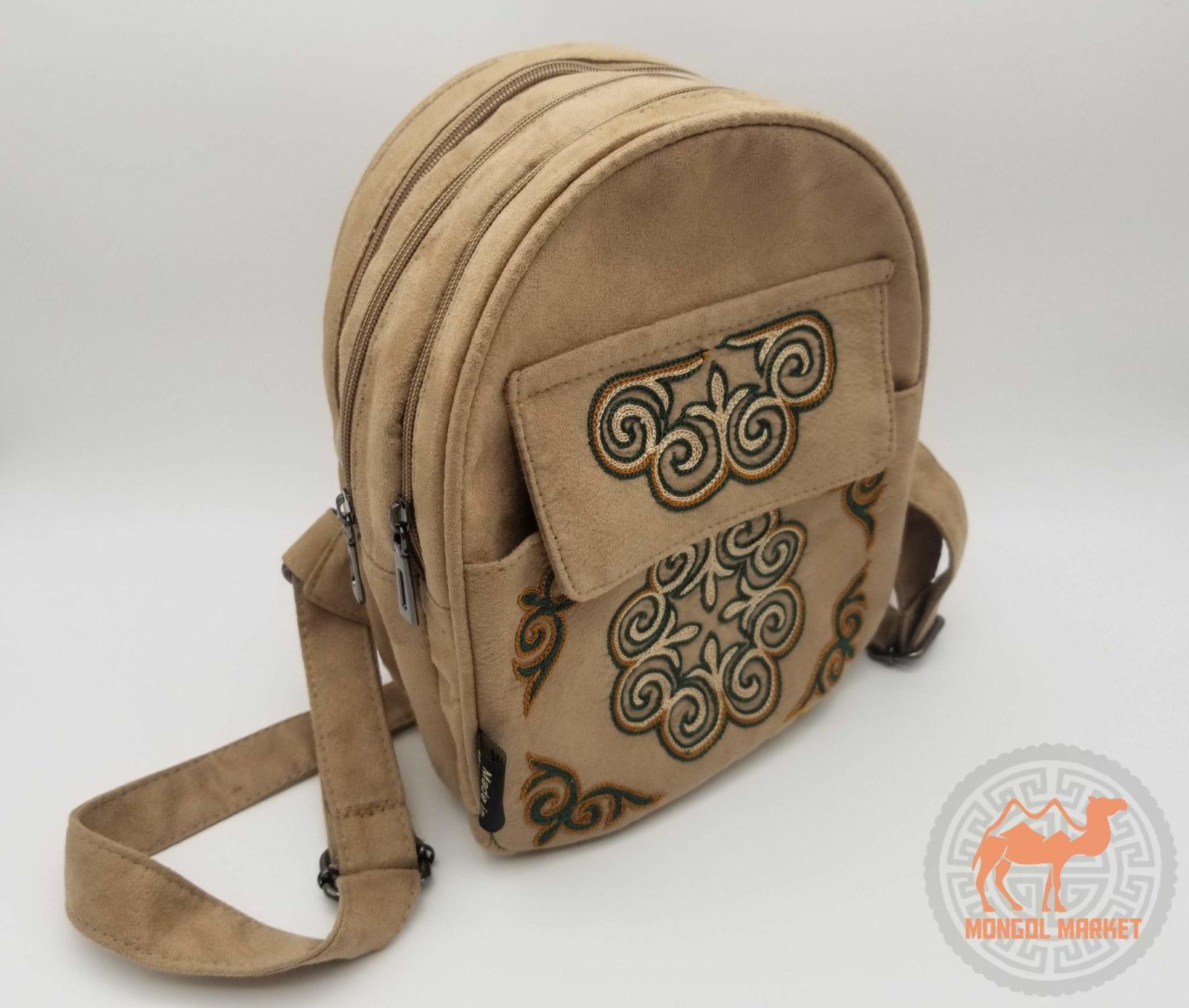 23749a14d79d Купить женский рюкзак из замши | Интернет магазин Монголмаркет