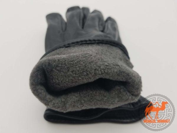 Монгольские кожаные перчатки фото