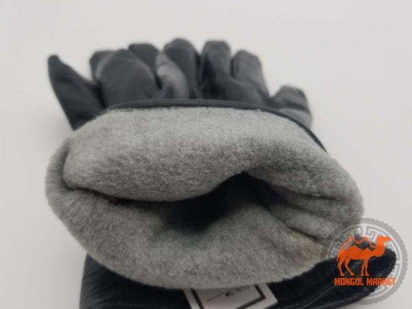 Монгольские кожаные перчатки