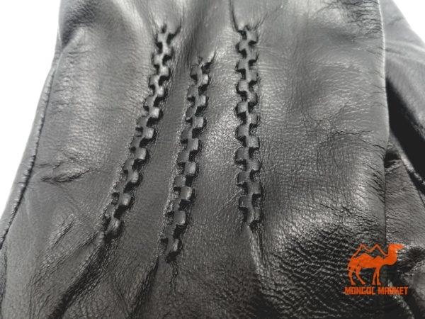 Кожаные перчатки фото