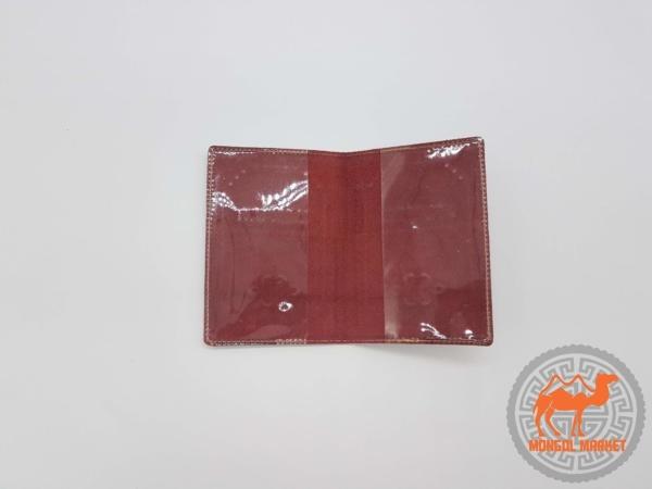Обложка на паспорт из кожи фото