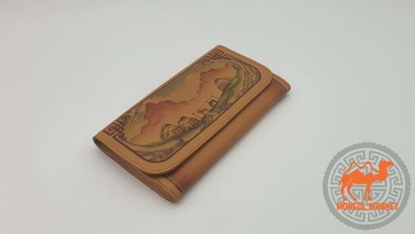 кошелек монгольский