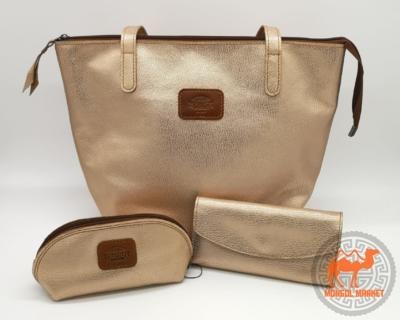 фото кожаная сумка золото фото