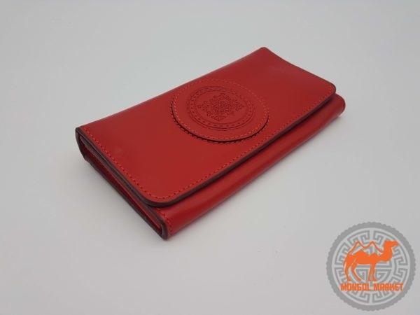 кошелек красный