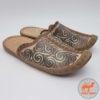 фото монгольских кожаных тапочек Montulga