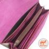 фото кожаный бордовый кошелек из натуральной кожи