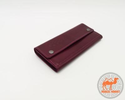 бордовый кошелек фото