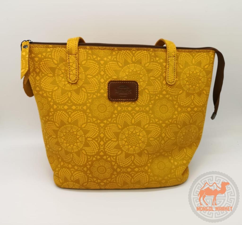 стильная желтая сумка фото
