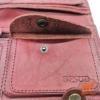 Кожаный широкий женский кошелек фото