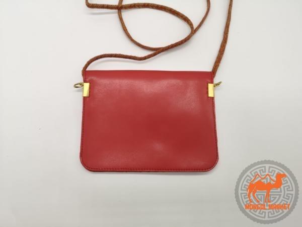 Красная маленькая женская сумочка фото