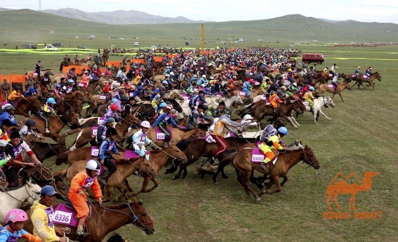 скачки в Монголии
