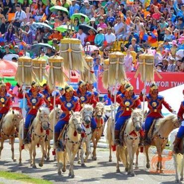 монгольский праздник Наадам