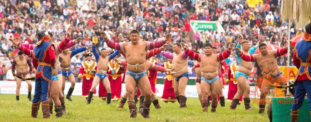 Борьба в Монголии