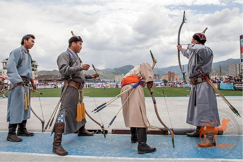 Стрельба из лука в Монголии
