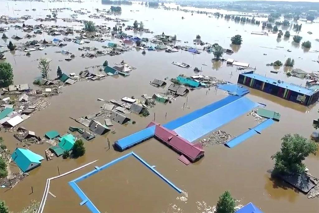 наводнение в Иркутской облати