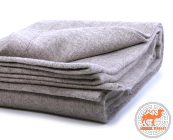 одеяло из яка серое фото