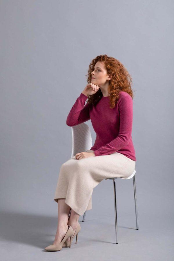 кашемировый свитер женский фото