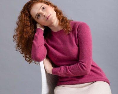 женский кашемировый свитер