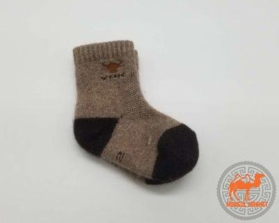 детские носки из шерсти яка