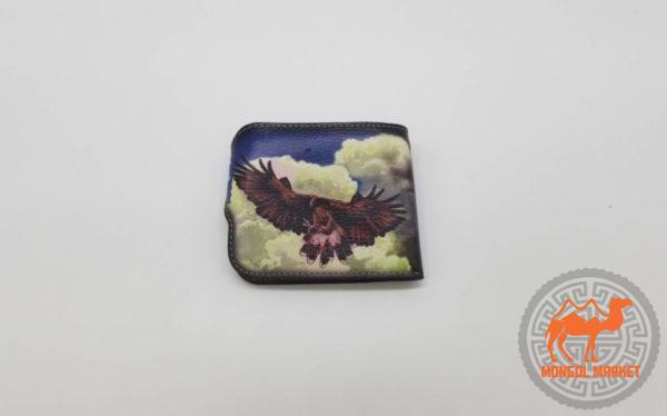 кошелек с рисунком орел фото