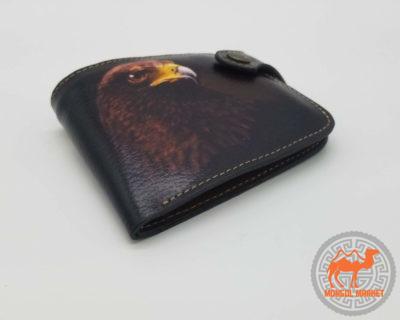 кошелек с рисунком орел