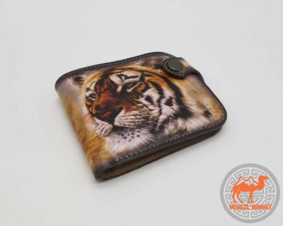кошелек рисунок тигр