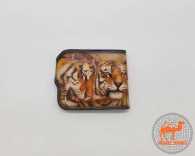 кошелек с рисунком тигр