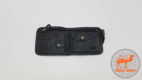 кожаный кошелек фото