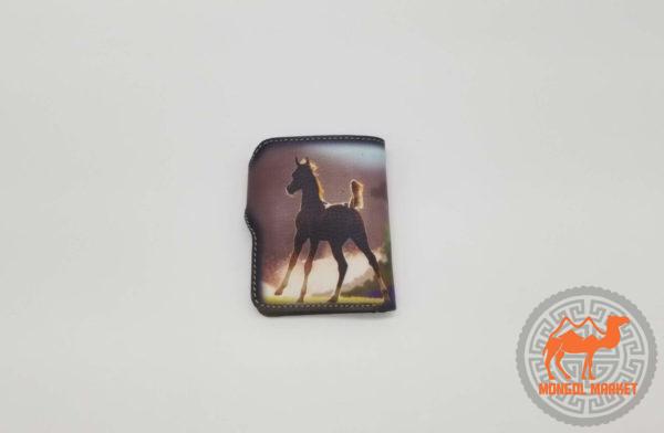 кошелек цветной лошадь