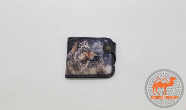 кошелек рисунок волк фото