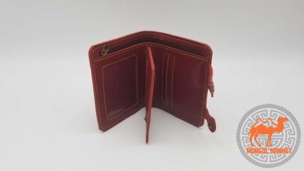 фото кожаный кошелек