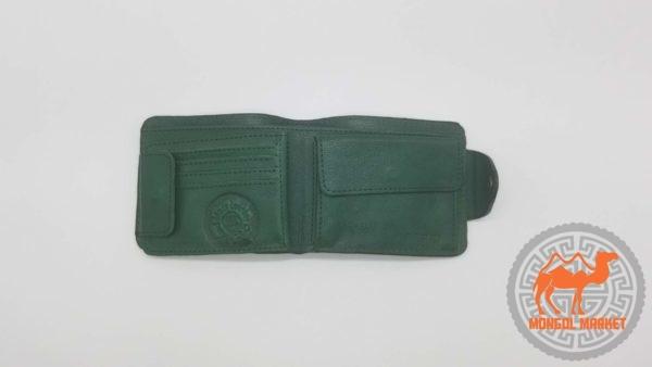 болотный кожаный кошелек фото