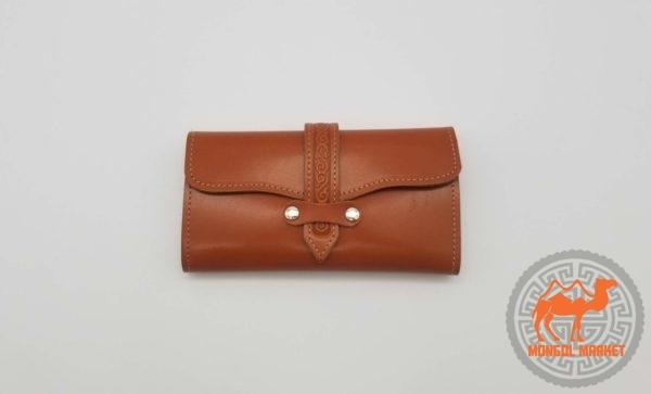 женский кожаный портмоне