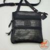 черная женская сумка на плечо