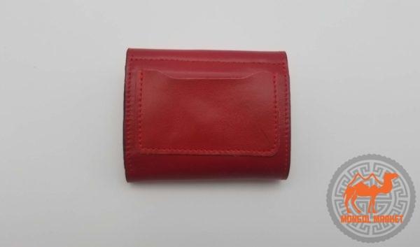 красный кошелек из Монголии
