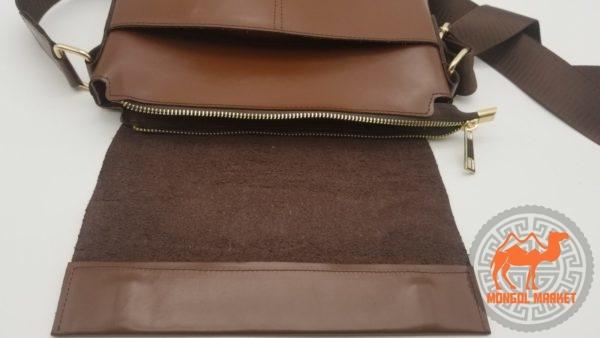 Мужская кожаная сумочка