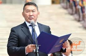 Президент Монголии