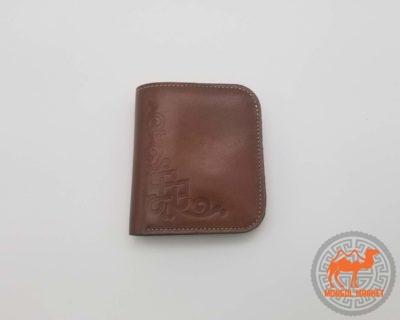 Небольшой кожаный кошелек фото