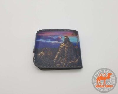 Портмоне Монгольский воин картинка